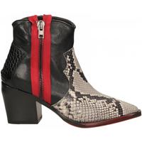 Pantofi Femei Botine Laura Bellariva PITONE roccia