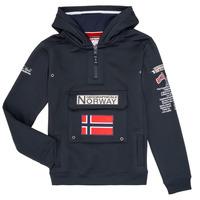 Îmbracaminte Băieți Hanorace  Geographical Norway GYMCLASS Bleumarin