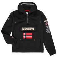 Îmbracaminte Băieți Hanorace  Geographical Norway GYMCLASS Negru