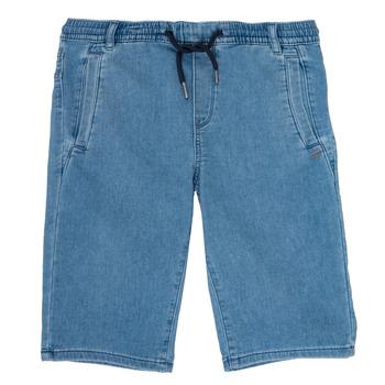 Îmbracaminte Băieți Pantaloni scurti și Bermuda Ikks PAGALI Albastru