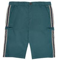 Îmbracaminte Băieți Pantaloni scurti și Bermuda Ikks MANUEL Albastru / Verde