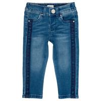Îmbracaminte Fete Jeans slim Ikks LUISIN Albastru