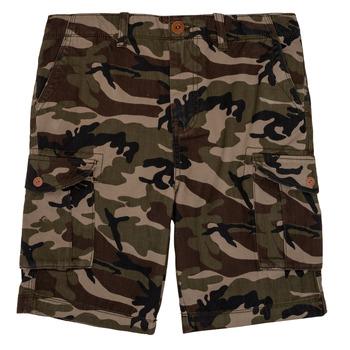 Îmbracaminte Băieți Pantaloni scurti și Bermuda Quiksilver CRUCIAL BATTLE Camo
