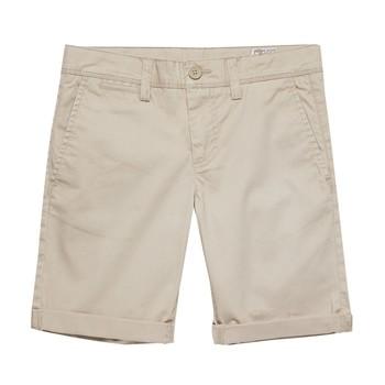 Îmbracaminte Băieți Pantaloni scurti și Bermuda Teddy Smith SHORT CHINO Bej