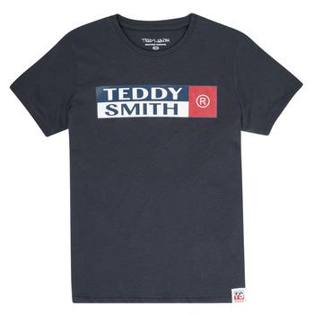 Îmbracaminte Băieți Tricouri mânecă scurtă Teddy Smith TOZO Albastru