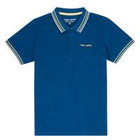 Îmbracaminte Băieți Tricou Polo mânecă scurtă Teddy Smith PASY Albastru