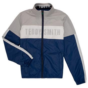 Îmbracaminte Băieți Jachete Teddy Smith HERMAN Gri / Albastru