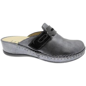 Pantofi Femei Saboti Calzaturificio Loren LOM2803gr grigio
