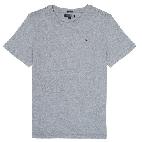 Îmbracaminte Băieți Tricouri mânecă scurtă Tommy Hilfiger  Gri
