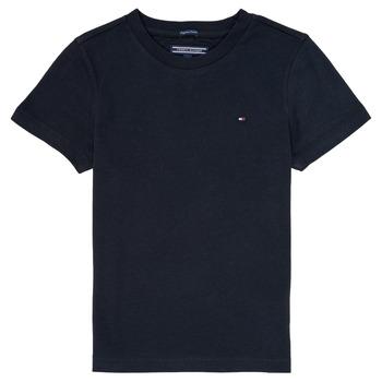 Îmbracaminte Băieți Tricouri mânecă scurtă Tommy Hilfiger  Bleumarin