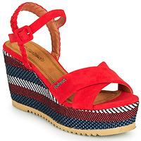 Pantofi Femei Sandale  Refresh LOCKAL Roșu