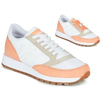 Pantofi Femei Pantofi sport Casual Saucony Jazz Vintage Alb / Somon