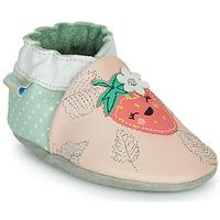 Pantofi Fete Papuci de casă Robeez FRUIT'S PARTY Roz / Verde