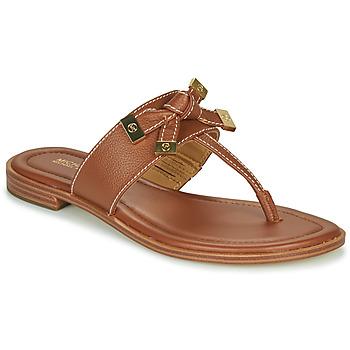 Pantofi Femei  Flip-Flops MICHAEL Michael Kors RIPLEY THONG Coniac