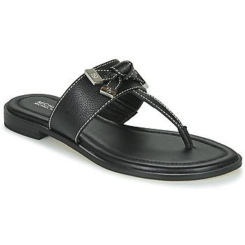 Pantofi Femei  Flip-Flops MICHAEL Michael Kors RIPLEY THONG Negru
