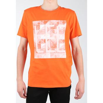 Îmbracaminte Bărbați Tricouri & Tricouri Polo Lee Logo Tee L63GAIMO orange