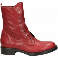 Pantofi Femei Ghete Fabbrica Dei Colli 511 WOOD 00006-rosso