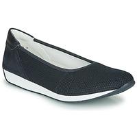 Pantofi Femei Balerin și Balerini cu curea Ara PORTO-FUSION Albastru