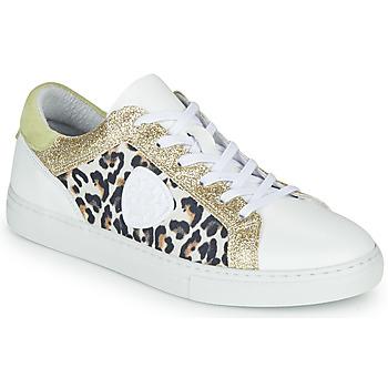 Pantofi Femei Pantofi sport Casual Philippe Morvan FURRY Alb / Leopard / Glitter