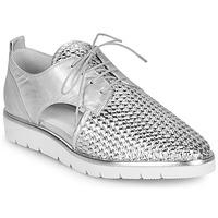 Pantofi Femei Pantofi Derby Regard LUCEY V2 TRESSE SILVER Argintiu