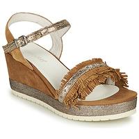 Pantofi Femei Sandale  Regard DURTAL V2 CROSTA CUOIO Maro