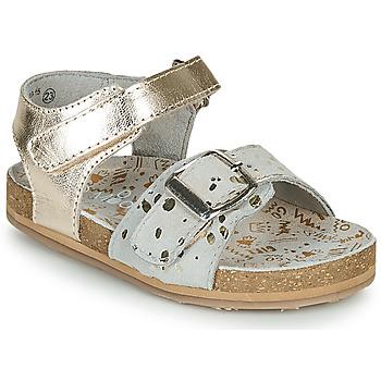 Pantofi Fete Sandale  Mod'8 KORALY Auriu