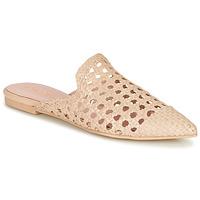Pantofi Femei Papuci de vară Pretty Ballerinas COTON ROSATO Bej