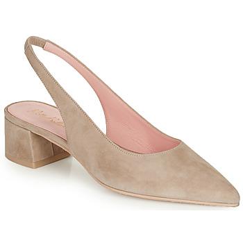 Pantofi Femei Pantofi cu toc Pretty Ballerinas ANGELIS SAFARI Bej