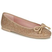 Pantofi Femei Balerin și Balerini cu curea Pretty Ballerinas BELLE SAND Auriu