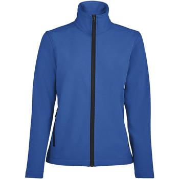 Îmbracaminte Femei Bluze îmbrăcăminte sport  Sols RACE WOMEN SOFTSHELL Azul