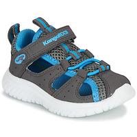 Pantofi Băieți Sandale  Kangaroos KI-ROCK LITE EV Gri / Albastru
