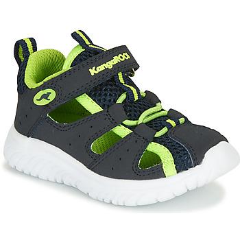 Pantofi Băieți Sandale și Sandale cu talpă  joasă Kangaroos KI-Rock Lite EV Albastru / Galben