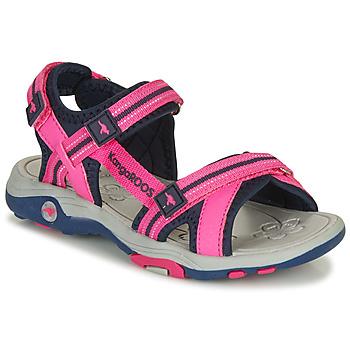 Pantofi Fete Sandale  Kangaroos K-LENI Roz