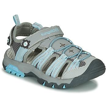 Pantofi Fete Sandale sport Kangaroos KT-SONATA Gri