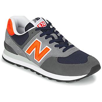 Pantofi Bărbați Pantofi sport Casual New Balance 574 Gri / Portocaliu