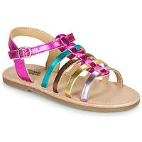 Pantofi Fete Sandale  Citrouille et Compagnie MAYANA Multicolor