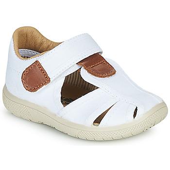 Pantofi Băieți Sandale  Citrouille et Compagnie GUNCAL Alb