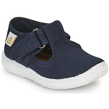 Pantofi Copii Balerin și Balerini cu curea Citrouille et Compagnie MATITO Bleumarin