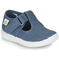 Pantofi Copii Balerin și Balerini cu curea Citrouille et Compagnie MATITO Albastru