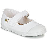 Pantofi Copii Balerin și Balerini cu curea Citrouille et Compagnie APSUT Alb