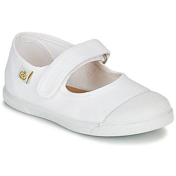Pantofi Fete Balerin și Balerini cu curea Citrouille et Compagnie APSUT Alb