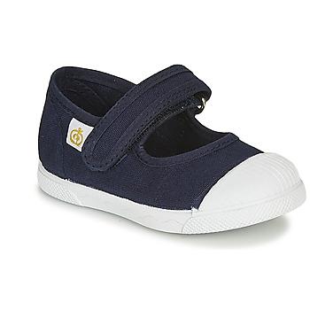 Pantofi Copii Balerin și Balerini cu curea Citrouille et Compagnie APSUT Albastru / Bleumarin