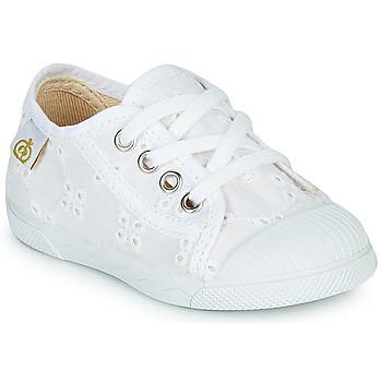 Pantofi Fete Pantofi sport Casual Citrouille et Compagnie MALIKA Alb