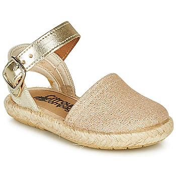 Pantofi Fete Sandale  Citrouille et Compagnie MIOSOTIS Auriu