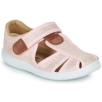Pantofi Fete Sandale  Citrouille et Compagnie GUNCAL Roz /  metalizat