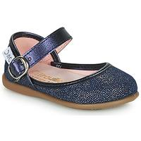 Pantofi Fete Balerin și Balerini cu curea Citrouille et Compagnie JARITO Albastru