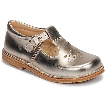Pantofi Fete Balerin și Balerini cu curea Citrouille et Compagnie MIDINETTE Auriu