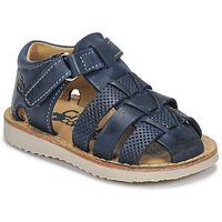 Pantofi Băieți Sandale  Citrouille et Compagnie MISTIGRI Albastru