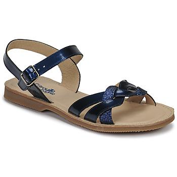 Pantofi Fete Sandale  Citrouille et Compagnie MADELLE Bleumarin