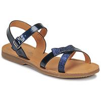 Pantofi Fete Sandale  Citrouille et Compagnie JISCOTTE Albastru